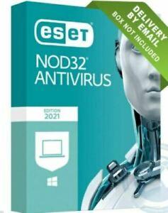 ESET Nod 32 Antivirus Security 1 Pc 2021 Region Free key