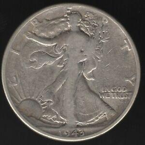 1943 U.S.A. Walking Liberty Half Dollar Coin | World Coins | Pennies2Pounds