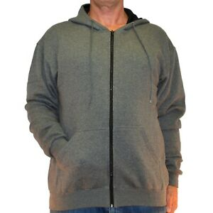 Big and Tall Performance (Ultra Durable) Heavy Duty Fleece Zipper Hoodie