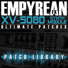 Roland XV-5080 ULTIMATE Patches Synth Effects Keyboard Presets FREE SHIPPING