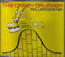 The Crazy Drummer-Rollercoaster cd maxi single