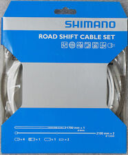 Shimano PTFE Coated Road Shift Cable & Housing Kit White