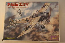 Germany Pfalz E.IV early WWI fighter, 1/72 ICM kit 72121, Airplane Model Kit