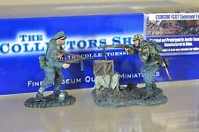 COLLECTORS SHOWCASE CS00300 WWII GERMAN FG42 MACHINE GUN CREW COMMAND TEAM na