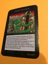 GIANT KUDZU : Illuminati INWO CCG, 1996 One With All Edition TCG Rare card weird