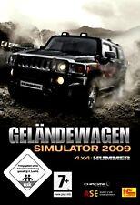 Fuoristrada simulatore 2009 4x4 HUMMER FUORISTRADA per PC Nuovo/Scatola Originale