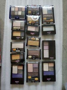 NEW! Lot of 16 MAYBELLINE New York Eye Shadow Expert Wear