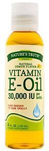 Nature's Truth Vitamin E Oil Liquid 4 Fluid Ounce Each