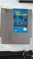 Vintage Game - Milon's Secret Castle (Nintendo NES, 1988) TESTED Works!(090302)