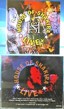 House Of Shakira - Live + (CD,2001,Artist's Label,Sweden) Autographed VERY RARE
