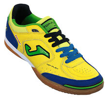 Joma Top Flex 409 Football Indoor Soccer Shoes Scarpe Calcio Calcetto 6 Yellow