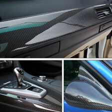 5D Shiny Gloss Glossy Carbon Fiber Film Wrap Vinyl Decal Car Auto Sticker Sheet