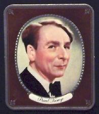 Paul Kemp 1937 Garbaty Passion Film Favorites Embossed Cigarette Card #30
