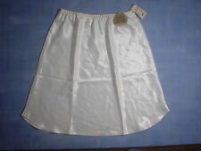 "Vintage Farr West 152 Anti-Cling Half Slip Size Small 19"" in White"