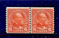 US #723  MNH OG  Rotary Press, Perf 10 Vertically Coil Line Pair   [MC2]