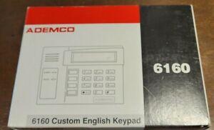 Honeywell 6160 Security and Surveillance Ademco Alpha Display Keypad