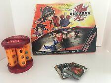 Bakugan Battle Brawlers Lot of 12 Brawlers Magnets Bakurack Case 5 Ability Cards