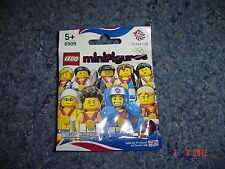 Lego 8909 tactical tennis player mini figure NEW SEALED London  GB Olympics 2012