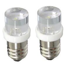2x ampoules E10 1LED 12V lumière blanche