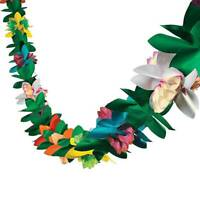 3M Tropical Garland Flowers Tissue Flower Hawaiian Luau Party Decorations