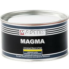 INTER TROTON POLYESTER MAGMA BLACK PUTTY SPACHTELMASSE SPACHTEL 2kg inkl.HÄRTER
