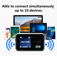 4G Wifi Portable Wireless Router Mobile Hotspot Modem SIM Card Slot Unlocked