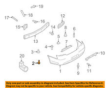 NISSAN OEM Exterior-Rocker Molding Screw 0146600261