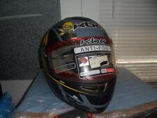 NOS KBC Tarmac With Antifog Face Shield Full Face Radio Active Zone Helmet