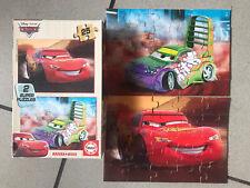 DISNEY PIXAR CARS Lightning McQueen wooden Jigsaws Puzzles 25 Pieces