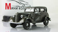 Scale model car 1:43, GAZ-61-72, olive 1941