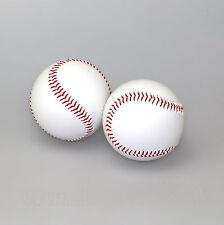 Baseball Ball 2er-Set weiß NEUWARE USA Sport offizielle Größe Originalgröße