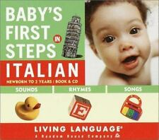 NEW - Baby's First Steps in Italian by Levy, Erika