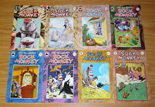 Sock Monkey set of (12) VF/NM five complete series - tony millionaire - inches