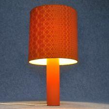 Lampe de table tablelamp 70th années '70 PopArt Vintage orange panton ESPACE âge