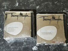 Thierry Mugler Angel Cosmetics Camouflage & Conceal Pallets Set of 2 Both BNIB