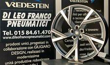 SET4 CERCHI IN LEGA  AUDI Q8 / RS6 RS7 DA 22 GMP ITALIA ANGEL