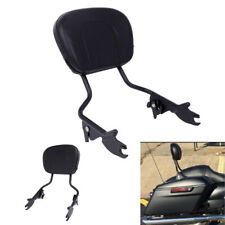 Detachable Passenger Backrest Sissy Bar W/Pad For Harley-Davidson Touring 09-18