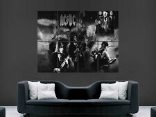 acdc smokband rock wall poster art picture print large