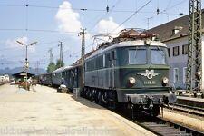OBB 1Do1 loco 1118.01 Worgi, 1968 Austrian Rail Photo ER1161