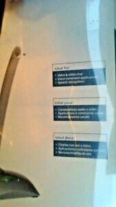 Logitech USB DESKTOP  Microphone  SUPERIOR CLARITY - PC OR MAC - SKYPE CERIFIED