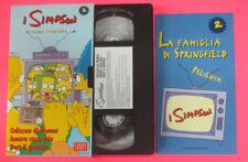 VHS film I SIMPSON 2 PRIMA STAGIONE Odissea di homer Amara casa mia(F107) no dvd
