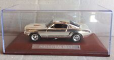 "DIE CAST "" FORD MUSTANG 350 GT "" ARGENT VOITURES COLLECTION ATLAS 1/43"