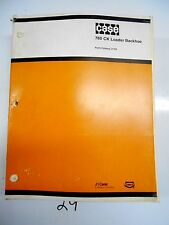 Case 780CK Loader Backhoe Parts Catalog   J1164   11/91