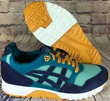 Asics Tiger Gel Saga Suede Sage Teal Green Peacoat Blue Purple Brown White Men