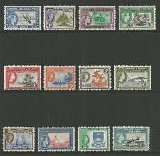 GILBERT & ELLICE ISLANDS 1956, QE II DEFINITIVES (12), S.G 64-75 MNH**