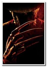 "A Nightmare on Elm Street Horror Freddy 12""x8"" Classic Movie Silk Poster"