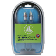 JL AUDIO XB-BLUAIC2-25 Car Amplifier 2 Channel RCA Cable 25ft. Amp Wire New