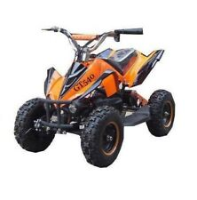 RV-Racing Elektro Quad Miniquad Kinder ATV GT 800W Pocketquad Kinderquad Orange