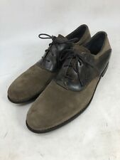 JOHN VARVATOS Star Buck Saddle Oxford Shoes Oxide (Gray) Size 10.5 M