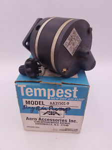 Tempest Aero Accessories AA215CC-9 Dry Air Pump Airplane Aviation Replacement